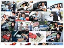 Quá trình mua một chiếc xe ô tô thông qua ứng dụng kỹ thuật số của người dùng diễn ra như thế nào?