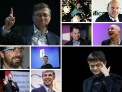 Bạn có biết 10 tỷ phú công nghệ giàu nhất hiện nay, họ là ai?