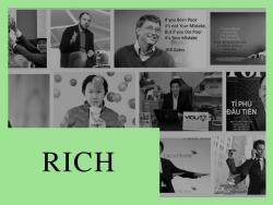 41% doanh nhân triệu phú sinh ra trong nghèo khó, nếu bạn muốn giàu thì hãy dẹp ngay tư tưởng mình kém may mắn đi!