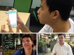 Cậu sinh viên khiếm thị một mình sang Singapore làm app đặt xe cho người đồng cảnh ngộ