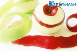 Mẹo xử lý màu táo lê sau khi gọt vỏ