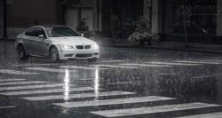 Lái xe an toàn dưới trời mưa