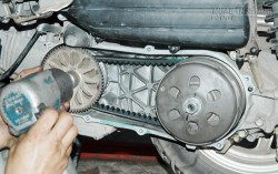 Dấu hiệu hỏng dây đai truyền động trên xe tay ga