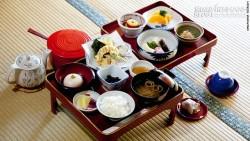 Nguyên tắc trên bàn ăn của người Nhật