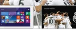 Máy tính bảng phong cách đội bóng Real Madrid trình làng