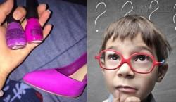 Lọ sơn móng tay và đôi giày tiếp tục gây sóng gió cộng đồng mạng