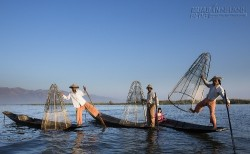 Hai ngày chiêm ngưỡng vũ điệu chèo thuyền trên hồ Inle