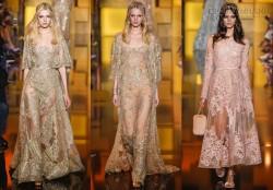 Vẻ đẹp lung linh của váy Elie Saab (2)