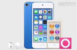 Apple nâng cấp iPod Touch với camera 8 megapixel