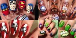Thích thú những bộ móng tay được vẽ từ hình ảnh các siêu anh hùng