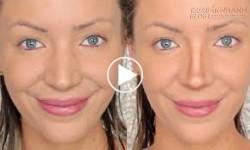 Makeup biến mũi to, tẹt thành mũi dọc dừa