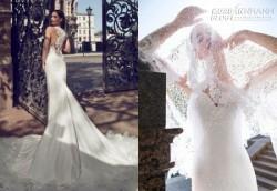 Váy ren trắng tinh xảo, sexy cho cô dâu