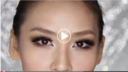 Trang điểm mắt khói cho đôi mắt nhỏ