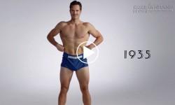 Đồ bơi nam giới biến đổi thú vị qua 100 năm