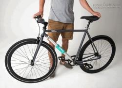 Ngạc nhiên với xe đạp không thể ăn trộm làm nản lòng giới đạo chích