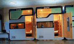 Dịch vụ hộp ngủ được mở tại ga quốc tế sân bay Nội Bài