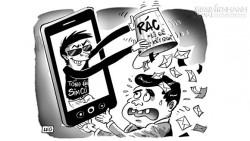 Cách từ chối tin nhắn rác từ mọi nhà mạng (an toàn 100%)