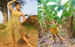 Cười ngất với BST thời trang cây nhà lá vườn siêu bá đạo của anh chàng Thái Lan
