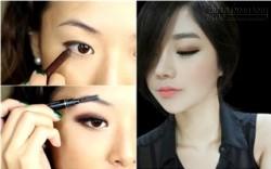 Hướng dẫn trang điểm mắt khói Hàn Quốc cực quyến rũ