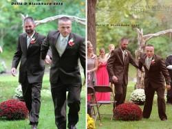 Bố dượng khóc vì được bố đẻ mời vào lễ đường cưới con gái