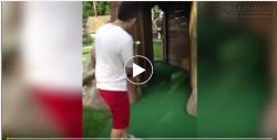 Cười rụng rốn với những tai nạn khi chơi golf