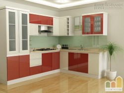 Chiêm ngưỡng những mẫu thiết kế tủ bếp đẹp hàng đầu Hà Nội