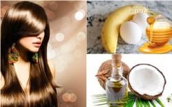 Tạm biệt tóc xơ rối với dầu ủ tóc tự chế tại nhà (P1)