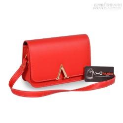 Túi đeo chéo màu đỏ cá tính