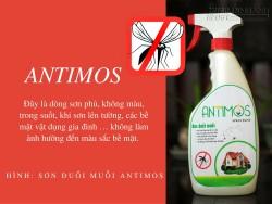 Sơn trong đuổi muỗi Antimos Clear