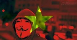 Webchat của Anonymous bị tấn công bởi nhóm người Việt