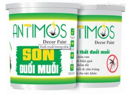 Sơn Antimos thay thế bình xịt muỗi