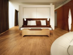 Thiết kế cầu thang với sàn gỗ công nghiệp