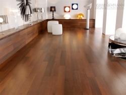 Thiết kế nội thất phòng ngủ với sàn gỗ công nghiệp