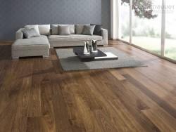 Thiết kế biệt thự sang trọng với sàn gỗ
