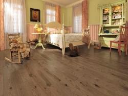 Biệt thự đẹp hơn với sàn gỗ tinh tế