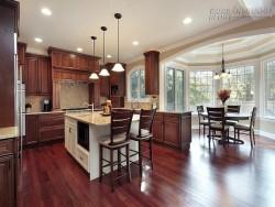 Sàn gỗ cho nội thất villa đẹp