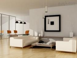 Cách trang trí phòng khách đẹp, bắt mắt