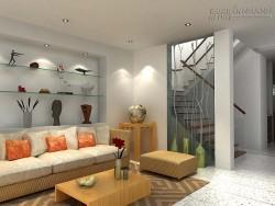 Mẫu phòng khách đẹp cho nhà chung cư
