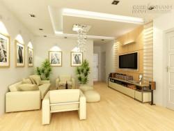 Thiết kế nội thất phòng khách đẹp có diện tích nhỏ
