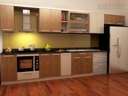Cách bố trí nhà bếp đẹp