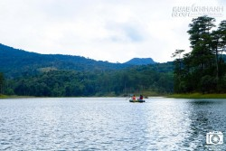 Vẻ mê hoặc của hồ Tuyền Lâm sáng sớm mùa đông
