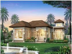 Nhà mái Thái 1 tầng