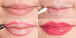 7 cách để làm môi bạn trông dày hơn