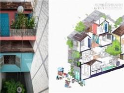 Ngôi nhà nhỏ ở Sài Gòn đoạt giải nhất Festival kiến trúc thế giới 2015