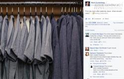 Ông chủ Facebook khoe tủ đồ 10 cái như 1 làm khó cư dân mạng