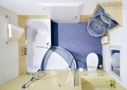 6 ý tưởng thiết kế cực chuẩn cho phòng tắm diện tích nhỏ