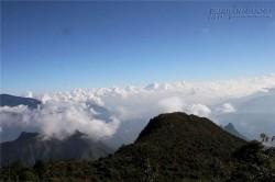 Đại dương mây trên đỉnh Bạch Mộc Lương Tử