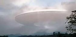 Đám mây hình đĩa bay xuất hiện trước chùa Thiên Mụ