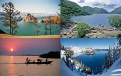 10 hồ nước sâu nhất thế giới