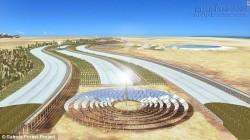 Bắt sa mạc Sahara đẻ ra rau xanh, nước sạch quanh năm